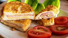 Töltött bundáskenyér recept / Anzsy konyhája French Toast, Sandwiches, Breakfast, Youtube, Foods, Roll Up Sandwiches, Morning Coffee, Food Food, Paninis