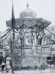 Coreto da SFUS Taj Mahal, Louvre, Building, Travel, Gazebo, 19th Century, Viajes, Buildings, Destinations