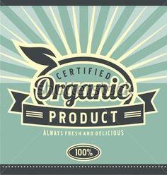 Etiqueta Retro Para Alimentos Comida Sana Y Creativa Concepto Artístico DE Estilo DE Vida Diseño Del Cartel Vintage Producto vectores en stock - Clipart.me