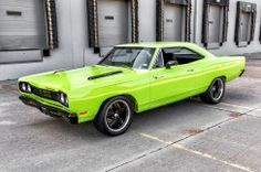 1969 Plymouth Road Runner 440ci 4spd