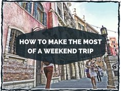 Guest Post: How to Make the Most of a Weekend Trip  The other day, I was tweeting with my friend Josh @ FrugalHack.me and I asked him if he wanted to write a guest post for me.  I have been following Josh's blog for a few months and I like his writing style and topics (he covers MS strategies and cash back deals).  If you like reading Travel with Grant, you will probably like reading FrugalHack.me as well.  With that said, take it away Josh…