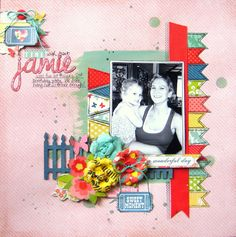 Little Nugget Creations: Time With Aunt Jamie (My Creative Scrapbook)