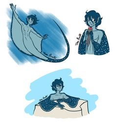I wanted to make a character for Mermay, but I goofed and made him adorable send help I don't have a name for him yet, but I'm open to suggestions! :D #mermay #merman #mermaid #stingray #mantaray #blue #cute #oc #originalcharacter #characterdesign #digitalart #merfolk #merpeople #male #boy #ocs