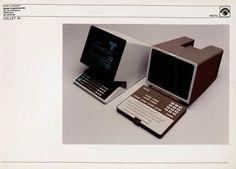 Minitel : comparaison entre modèle existant et celui de 1981, juillet 1981 | Centre de documentation des musées - Les Arts Décoratifs