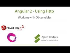 Angular 2 Http - Working with RxJS Observables - YouTube