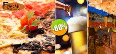 Frascati en La Cruz de Huanacaxtle - $84 en lugar de $210 por 1 Pizza Individual Quattro Stagioni + 1 Cerveza Nacional ó 1 Limonada! Click