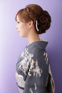 《ichiko》編み込みアップスタイル | 大阪梅田のヘアセット・メイクアップのビューティサロン ichiko(イチコ)