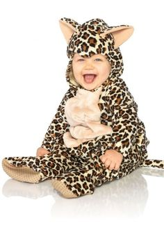 Anne Geddes Baby Leopard Costume #Halloween #Costume #Onesie #Animal