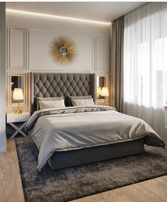 Master Bedroom Furniture Design 20 Striking Bed Design Ideas for Bedroom Luxury Bedroom Design, Master Bedroom Design, Home Decor Bedroom, Bedroom Furniture, Bedroom Ideas, Master Bedrooms, Master Suite, Hotel Style Bedrooms, Kids Bedroom