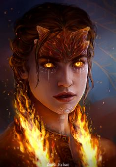 "annahelme: "" Fire godlike gosh i love character portraits "" Fantasy Characters, Fantasy Artwork, Character Portraits, Fantasy Art, Pillars Of Eternity, Fantasy Creatures, Fantasy Character Design, Art, Fantasy Inspiration"