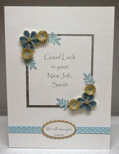 Travel bunting machine stitched paper hearts greeting card paper daisy cards quilled new job card m4hsunfo