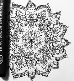 Olivia-Fayne Tattoo Design - EYE CANDY Mandala Art, Henna Mandala, Mandala Drawing, Grace Tattoos, Baby Tattoos, Olivia Fayne Tattoo, Henna Designs, Tattoo Designs, Mandala Sternum Tattoo