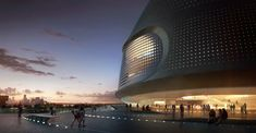 Image 8 of 11 from gallery of National Art Museum of China / UNStudio. © UNStudio. Entrance View