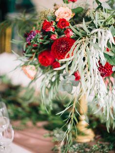 Flower arrangements wedding wedding decor wedding flowers marsala coclor in flowers