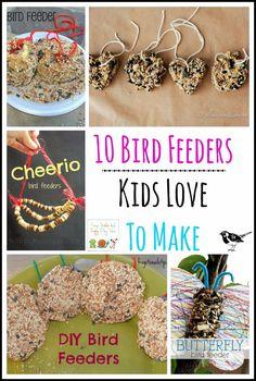 10 Bird Feeders Kids Love To Make