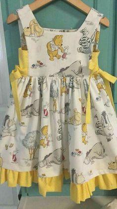 Kids Wear - Buy Kids Clothes & Dresses for Girls Baby Frocks Designs, Kids Frocks Design, Sewing Kids Clothes, Baby Sewing, Frocks For Girls, Little Girl Dresses, Baby Dresses, Girls Dresses, Fashion Kids