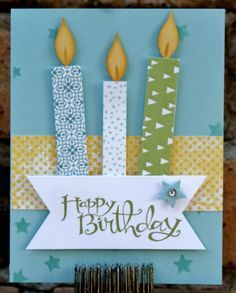 In today's class you will create four birthday cards with envelopes. Cards styles designs are feminine, masculine, and generic that can be used for children. Techniques will include rubber stamping, e