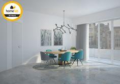 Homelab eetkamer renovatie appartement te Sint-Truiden