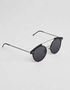 c3c41babce Retro Round Polarized Sunglasses For Men   Women Silver Metal Circle ...