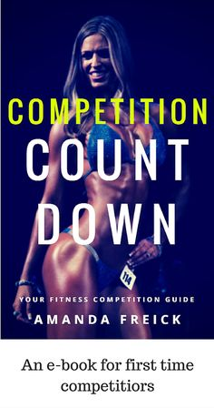 Are you looking at doing a bikini competition??? Did you know that there is a TON more that goes into besides diet and exercise? This guide goes into EVERY detail you need to know... the tan, the suit, the registration fees... EVERYTHING! It even includes an excel based budgeting workbook because competing can be EXPENSIVE!!!!!!