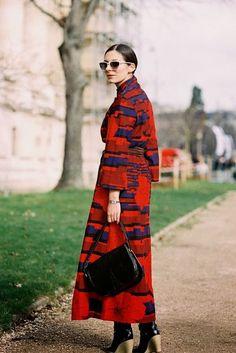 Paris Fashion Week AW 2014....Andreea (via Bloglovin.com )