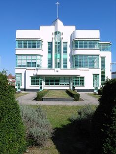 Art Deco :The Hoover Building (1931-1935) by Wallis Gilbert and Partners, Western Avenue, London