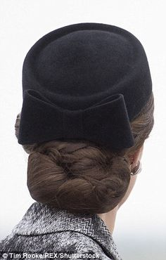 Kate Middleton, The Duchess of Cambridge causes surge in demand for hairnets   Daily Mail Online
