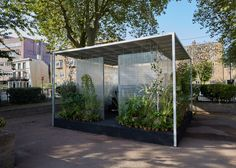 """Asif Khan and MINI bring calm """"forests"""" to London inner city"""