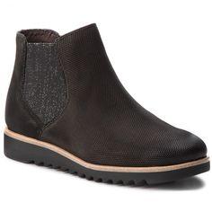 Bokacsizma TAMARIS - 1-25300-20 Black 001 Chelsea Boots, Ankle, Shoes, Black, Fashion, Moda, Zapatos, Wall Plug