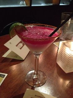 ... Hour at Zinc Bistro & Wine Bar. The Partida Margarita is excellent