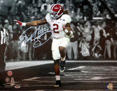 Derrick Henry Autographed 16x20 Photo Alabama Crimson Tide PSA/DNA ITP Stock #102558