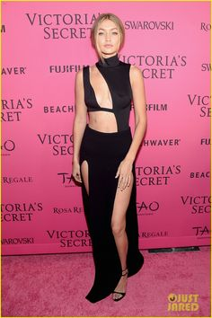Selena Gomez Joins Models Kendall Jenner & Gigi Hadid at VS After Party!: Photo #891944. Selena Gomez wears yet another chic look while walking the carpet at the after party following the 2015 Victoria's Secret Fashion Show on Tuesday (December 10)…