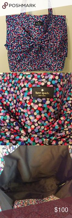 PRICE DROP -Kate Spade On Purpose Dance Party Tote *RARE* Beautiful, Kate Spade On Purpose Dance Party Tote -NWOT. Never Been Used. kate spade Bags Totes