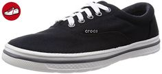Crocs Men Sneaker Norlin Plim Lace Up Flat Black/White M9 / 42.5EU (*Partner-Link)