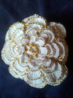 Sachê de crochê em forma de rosa | Chique Nita Artesanatos | 18B282 - Elo7