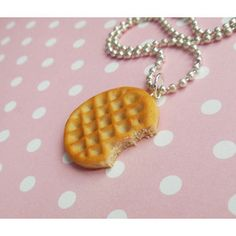 Eleven, Stranger Things, Inspired Waffle Necklace, Key chain, Pendant, Food Jewelry