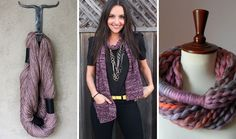 20 Chic   Cozy DIY Scarves. Get ready for Fall!