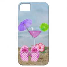 Seashore Cockail iPhone 5 Cases