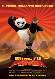 KUNG FU PANDA - film d'animazione del 2008, diretto da Mark Osborne e John Stevenson e prodotto dalla DreamWorks Animation.