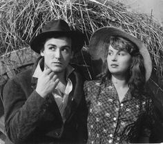 Vittorio Gassman and Sivana Mangano in Bitter Rice