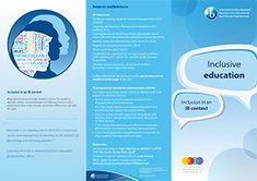 IB Inclusive Education Brochure - done with the International Baccalaureate