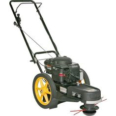 Ryobi 4Cycle 30cc Gas Wheeled Trimmer RY13016 Weed Wacker