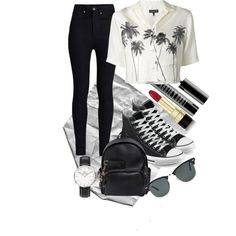Palm by mattress on Polyvore featuring polyvore, fashion, style, rag & bone, Rodarte, Converse, Dsquared2, Daniel Wellington, Ray-Ban, Dolce&Gabbana and Lord & Berry