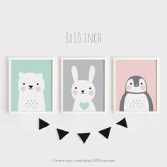 Printable+Nursery+Art+Set+of+3+Poster+Baby+room+Wall+by+ARTsopoomc