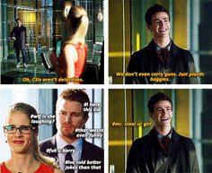 Arrow - Barry, Oliver & Felicity Damn right Stephen Amell Arrow, Arrow Oliver, Superhero Shows, Superhero Memes, The Cw Shows, Dc Tv Shows, Supergirl Dc, Supergirl And Flash, The Flash