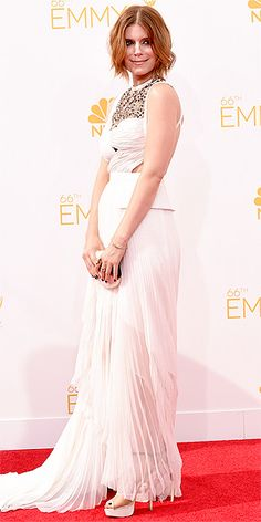 Pick your favorite angle of Kate Mara's Emmys dress!