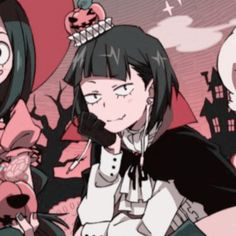 Anime Halloween, Halloween Icons, Halloween Profile Pics, Anime Best Friends, Anime Girl Pink, Anime Group, Another Anime, Matching Profile Pictures, Avatar Couple