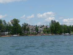 Waterfront estate on Lake Norman