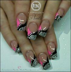 Fashion For Women: Luminous nails designs