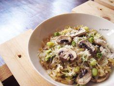 20140315_蘑菇蘆筍燉米粒麵